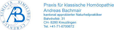 Praxis f�r klassische Hom�opathie Andreas Bachmair